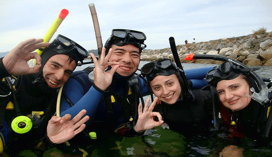 cursos de buceo open water diver